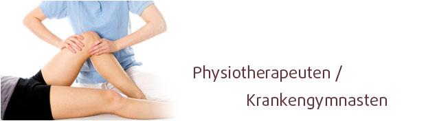Physiotherapeuten - Krankengymnasten im Lusanum